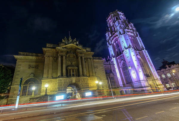 Photograph - Bristol Museum And Art Gallery Beside Wills Memorial Building by Jacek Wojnarowski