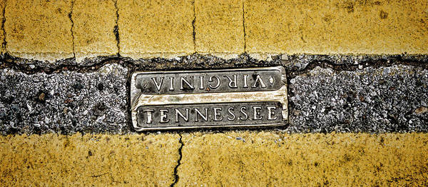 Photograph - Bristol Tennessee Street Pano by Heather Applegate