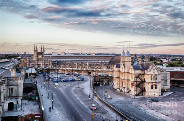 Photograph - Bristol Train Station by Ariadna De Raadt