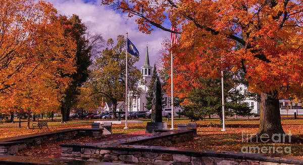 Photograph - Bristol Vermont by Scenic Vermont Photography