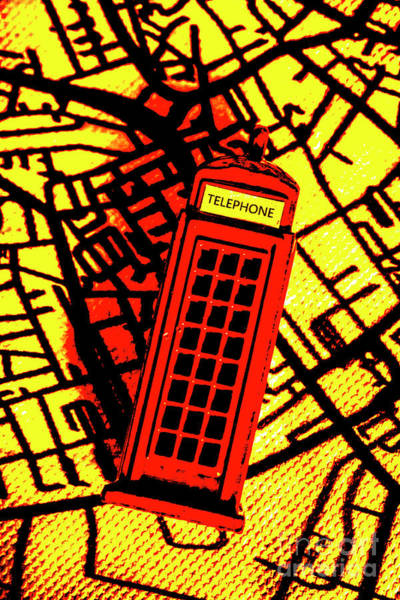 English Photograph - Brit Phone Box by Jorgo Photography - Wall Art Gallery