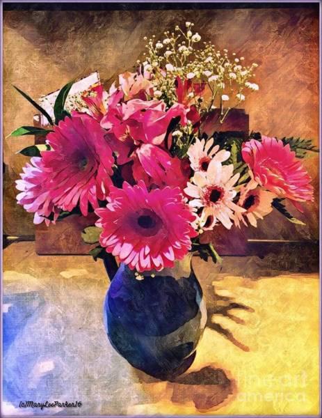 Brithday Wish Bouquet Art Print