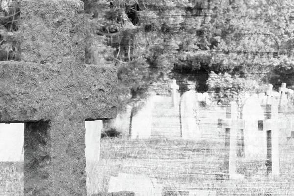 Photograph - British Cemetery Crosses Fine Art by Jacek Wojnarowski