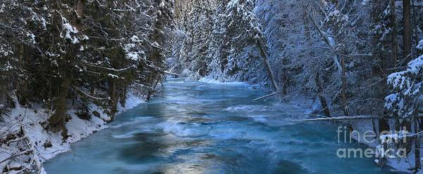 Photograph - British Columbia Icy Blues by Adam Jewell