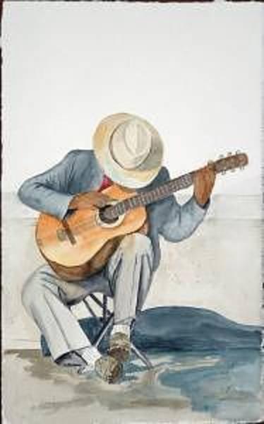Painting - British Columbia Man by Diane Ziemski