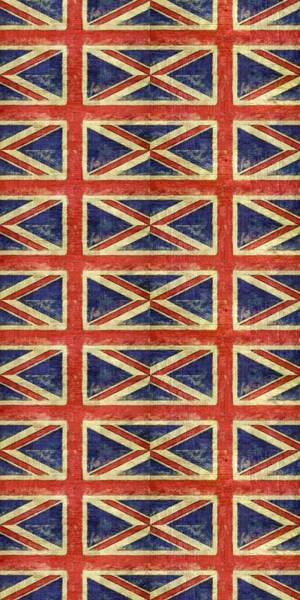 Digital Art - British Flag Collage One by Michelle Calkins
