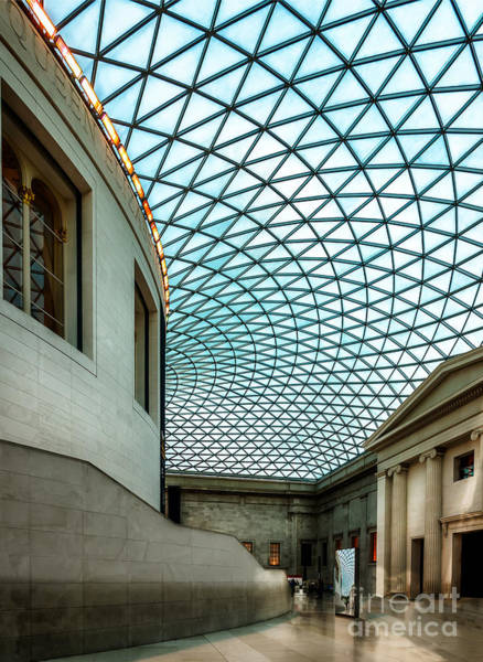 Museum Digital Art - British Museum by Adrian Evans
