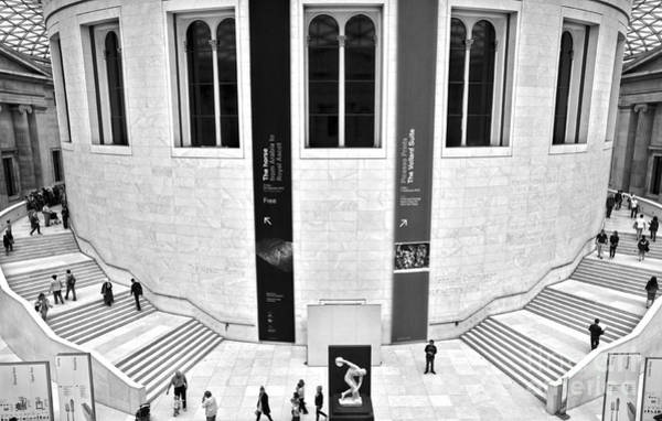 Photograph - British Museum Great Court Uptairs by RicardMN Photography