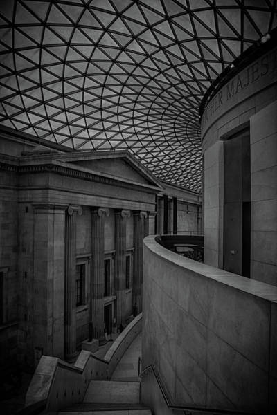 Town Square Wall Art - Photograph - British Museum by Martin Newman