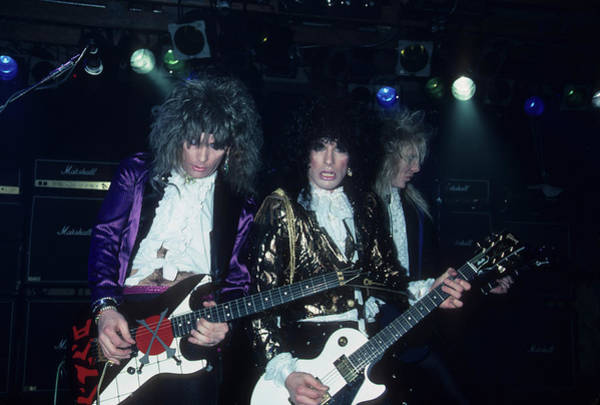 Photograph - Britny Fox Live by Rich Fuscia