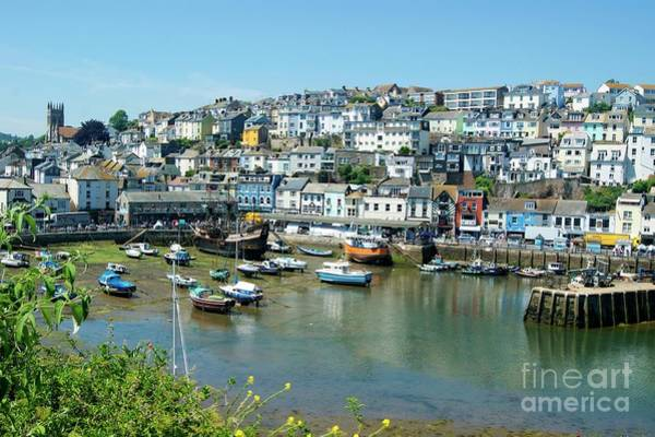 Photograph - Brixham Harbour by David Birchall