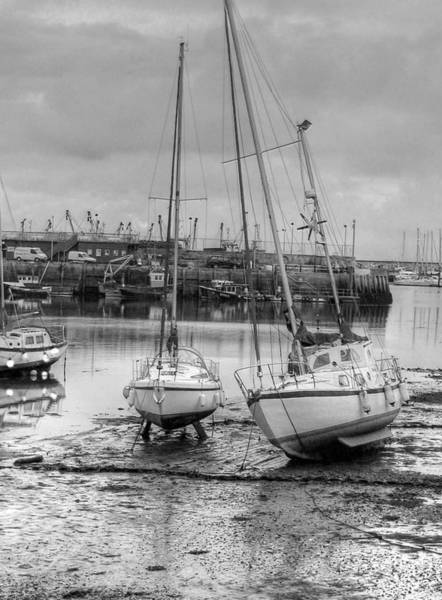 Brixham Harbour  Art Print by Mike Lester