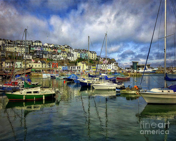 Photograph - Brixham Harbour View by Edmund Nagele
