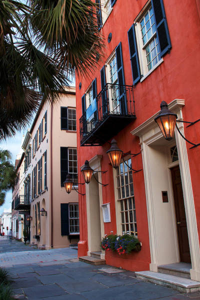 Lowcountry Photograph - Broad St. Lanterns by Drew Castelhano