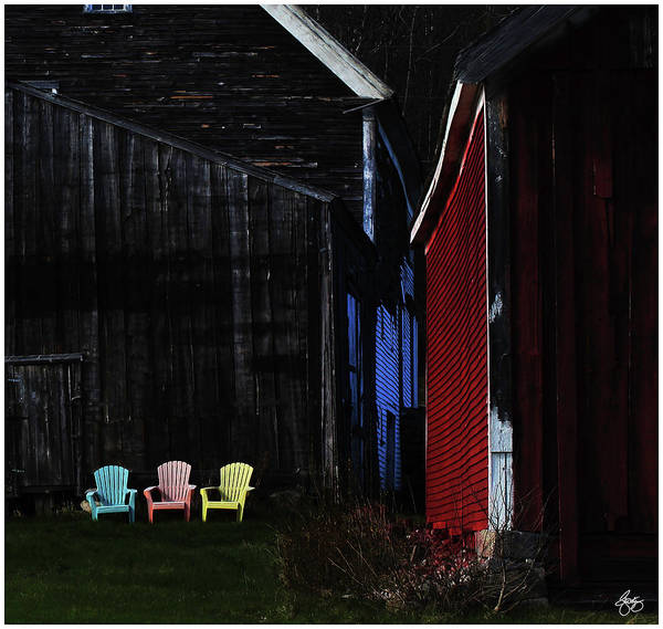 Photograph - Broadacres Farm Colors by Wayne King
