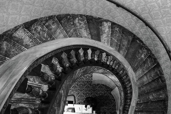 Photograph - Broadmoor Hotel Spiral Staircase by John McArthur