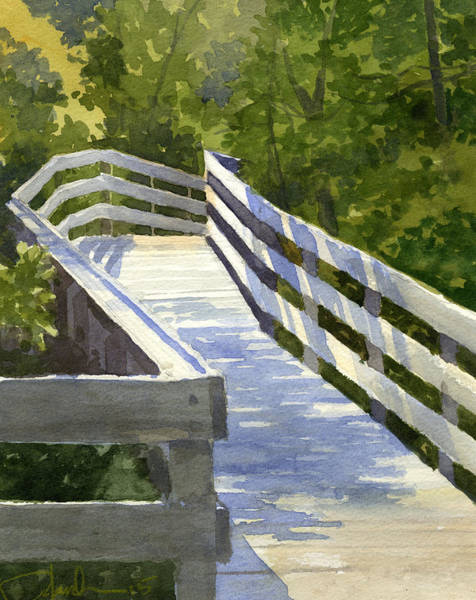 Painting - Boardwalk by James Faecke