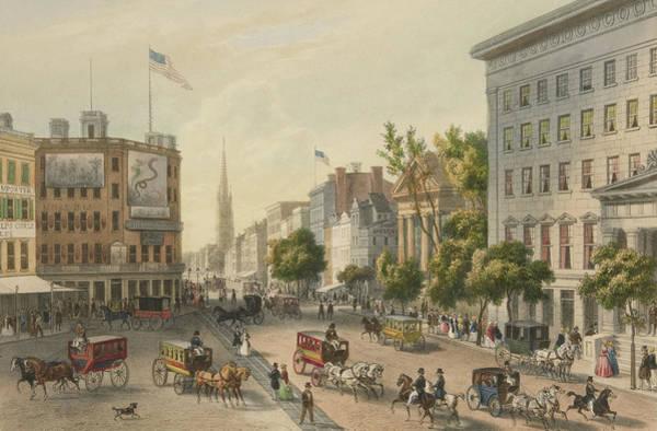 Traffic Painting - Broadway by Augustus Kollner