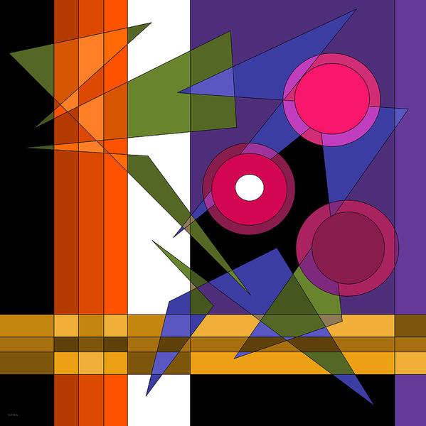 Digital Art - Broadway Lights by Val Arie