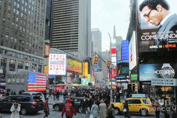 Photograph - Broadway - New York by Doc Braham