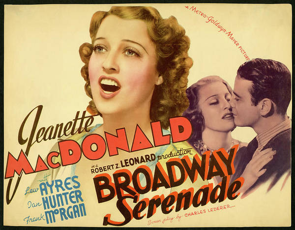 Wall Art - Mixed Media - Broadway Serenade 1939 by Mountain Dreams