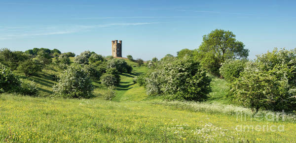 Photograph - Broadway Tower In Spring Panoramic by Tim Gainey