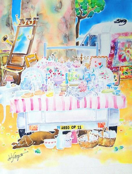 Painting - Brocante by Hisayo Ohta