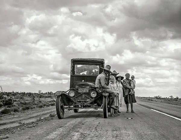 Wall Art - Photograph - Broke Down .  .  . In Nowhere Texas  1937 by Daniel Hagerman