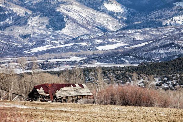Photograph - Broken Barn by Denise Bush