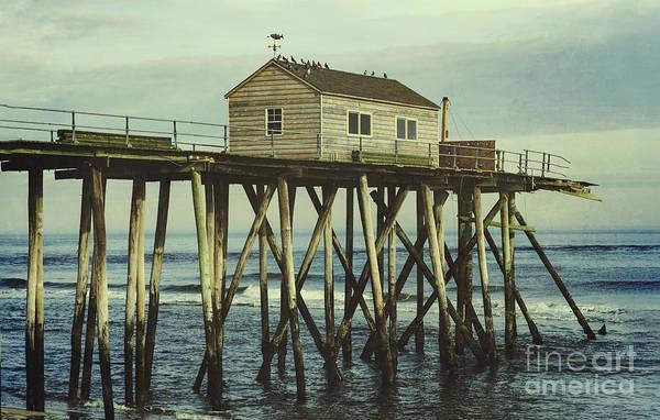 Photograph - Broken Belmar Fishing Pier by Debra Fedchin