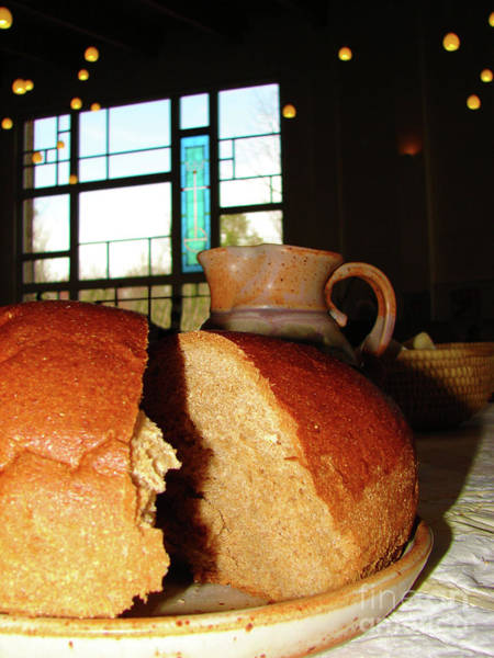 Wall Art - Photograph - Broken Bread by Laura Brightwood