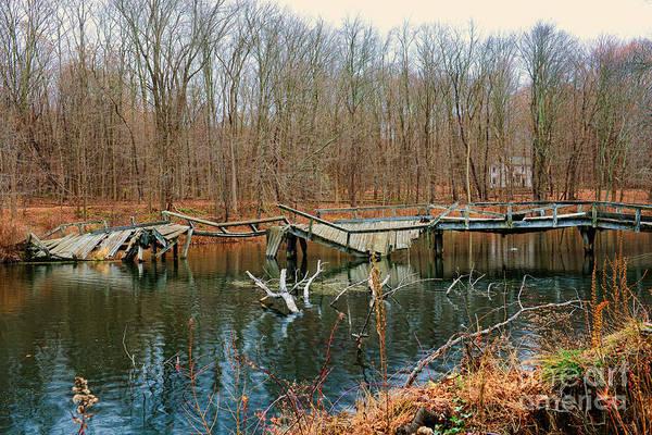 Troll Photograph - Broken Bridges by Paul Ward