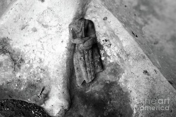 Wall Art - Photograph - Broken Buddha Iv by Dean Harte