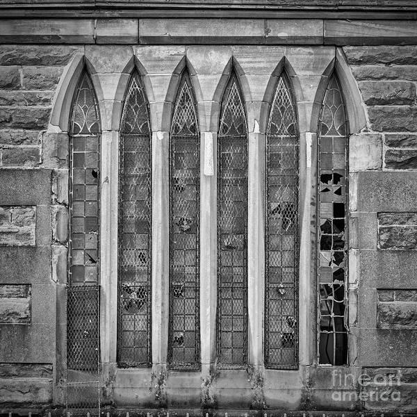 Wall Art - Photograph - Broken Church Windows by Antony McAulay
