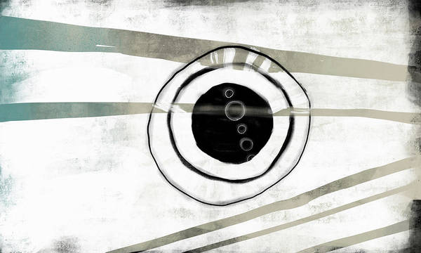 Oval Digital Art - Broken Circle by Kathryn Humphrey
