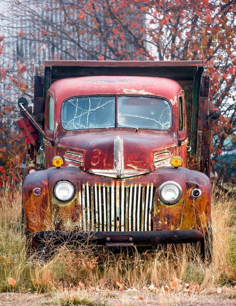 Wall Art - Photograph - Old Abandoned Truck by Todd Klassy