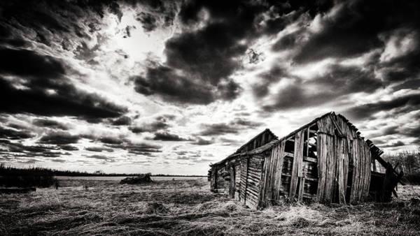 Ian Macdonald Photograph - Broken Down Prairie by Ian MacDonald