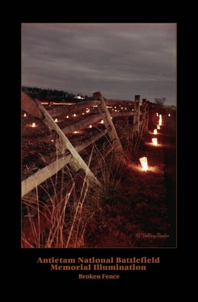 Luminaries Photograph - Broken Fence 92 by Judi Quelland