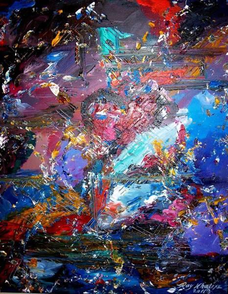 Painting - Broken Heart by Ray Khalife
