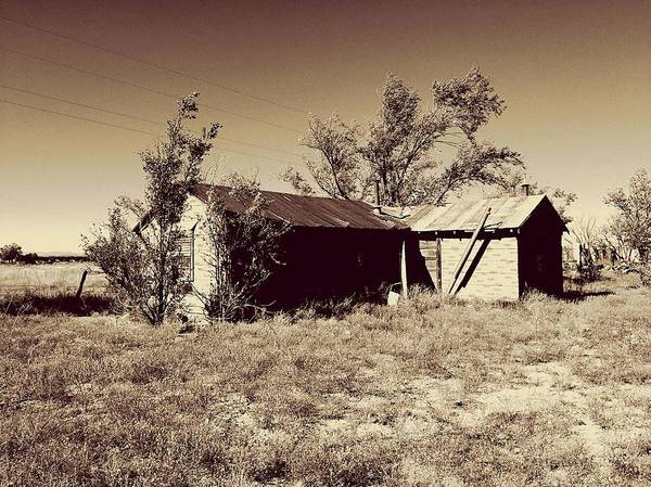 Photograph - Broken Homestead by Brad Hodges