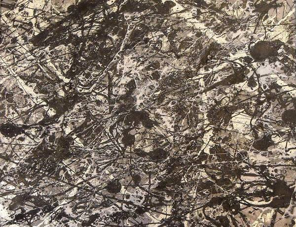 Wall Art - Painting - Broken Metal by CJ  Smalls