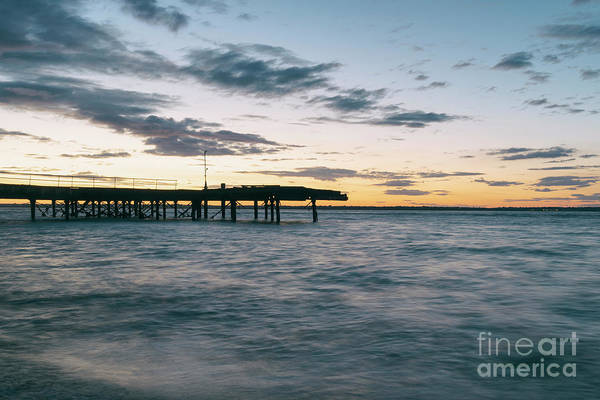 Photograph - Broken Pier At Sunset by Clayton Bastiani