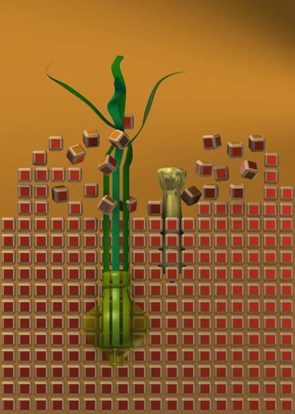 Digital Art - Broken The Wall by Alberto RuiZ