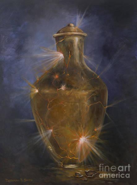 Emanate Painting - Broken Vessel by Deborah Smith