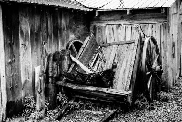 Photograph - Broken Wagon by M G Whittingham