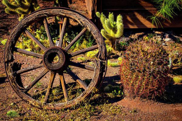 Wall Art - Photograph - Broken Wagonwheel by Garry Gay