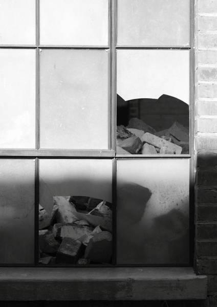 Broken Windows And Bricks Art Print