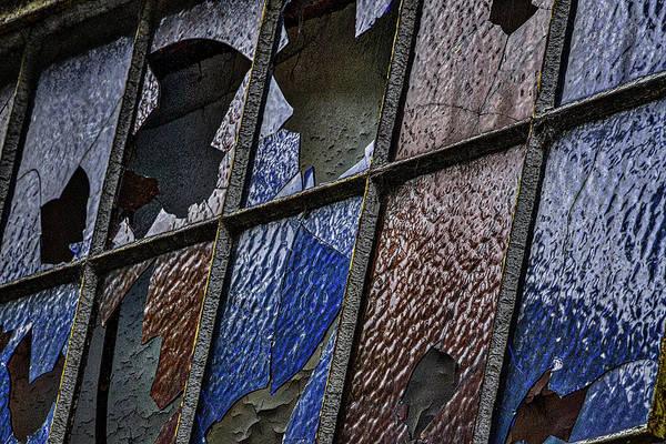 Photograph - Broken Windows In La Boca - Argentina by Stuart Litoff