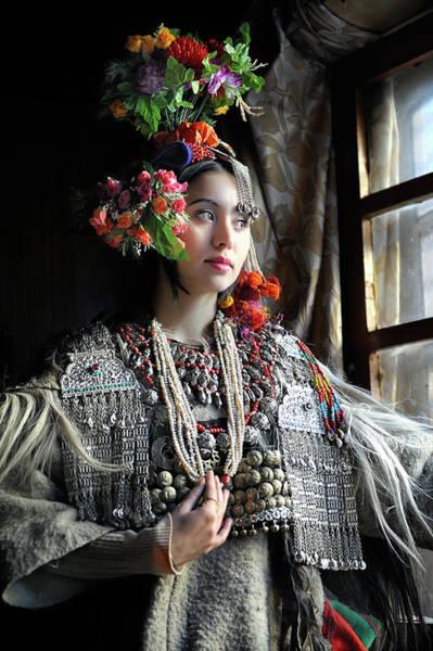 Jewelery Photograph - Brokpa Lady by Kieron Nelson