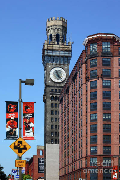 Photograph - Bromo Seltzer Tower Baltimore by James Brunker